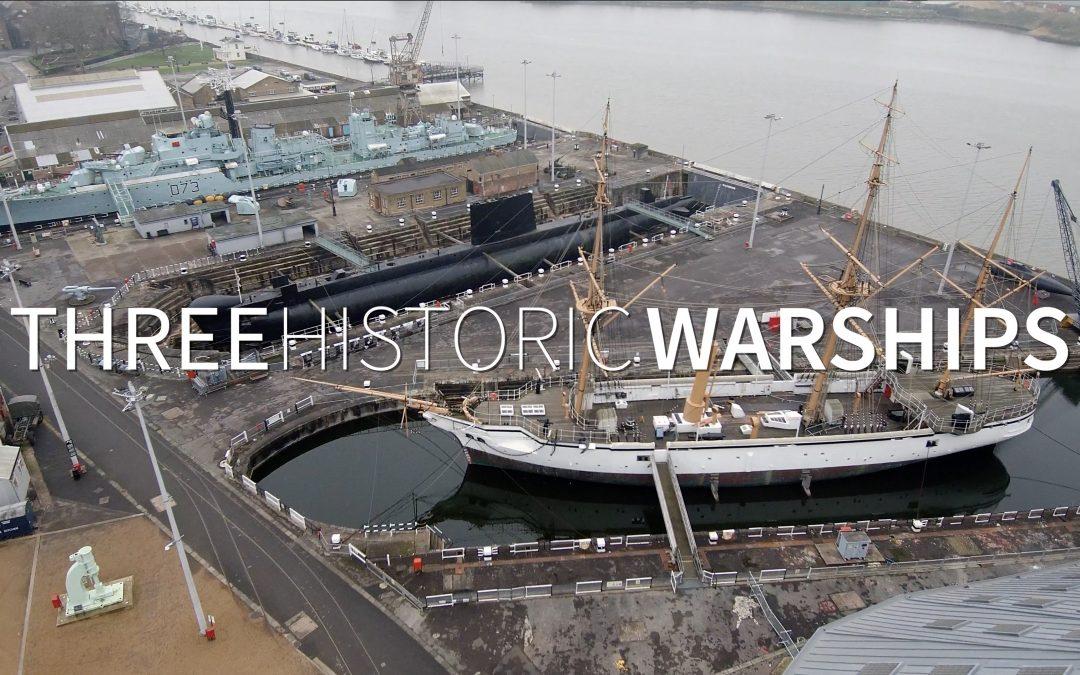 The Historic Dockyard Chatham Aerial Promo 2020
