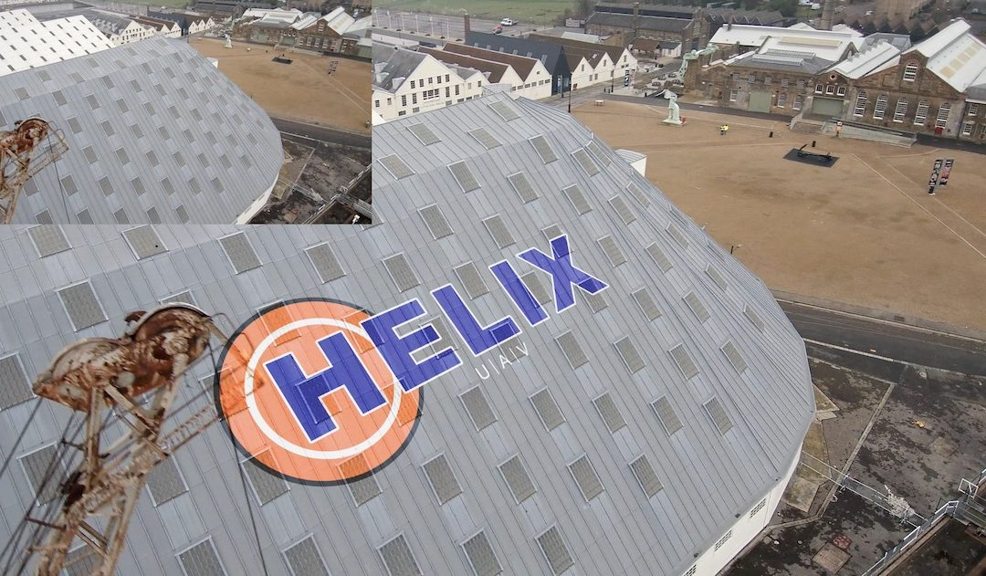 Helix UAV [FX] example – Logo embedding example #2