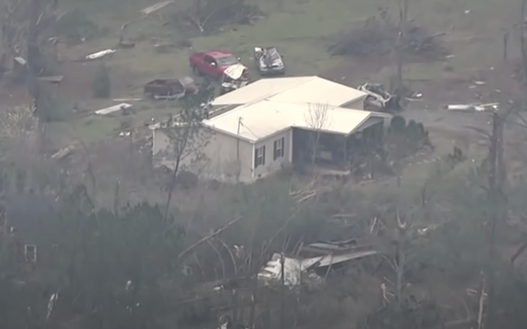 Drones locate hurricane victims