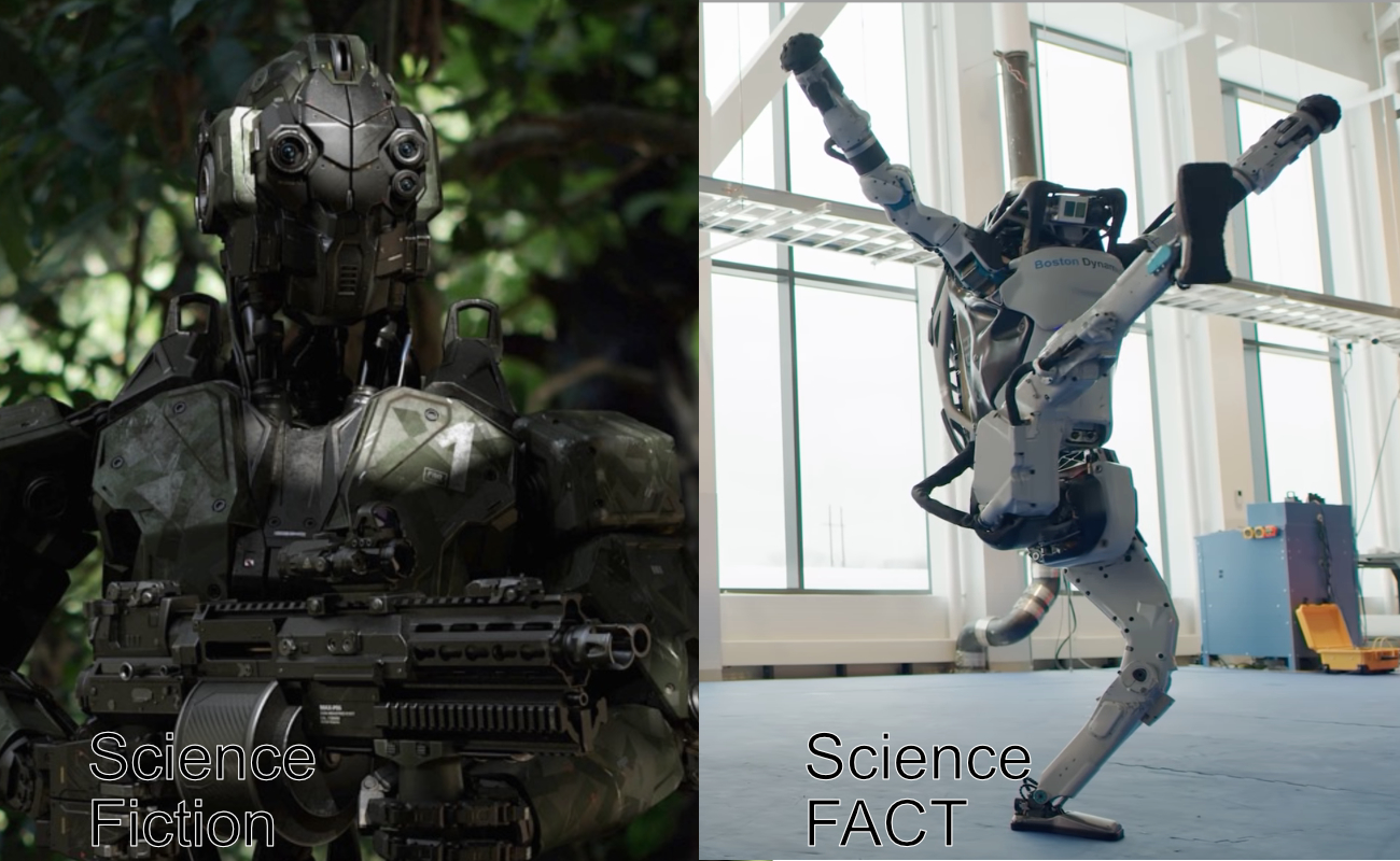 Robot compare