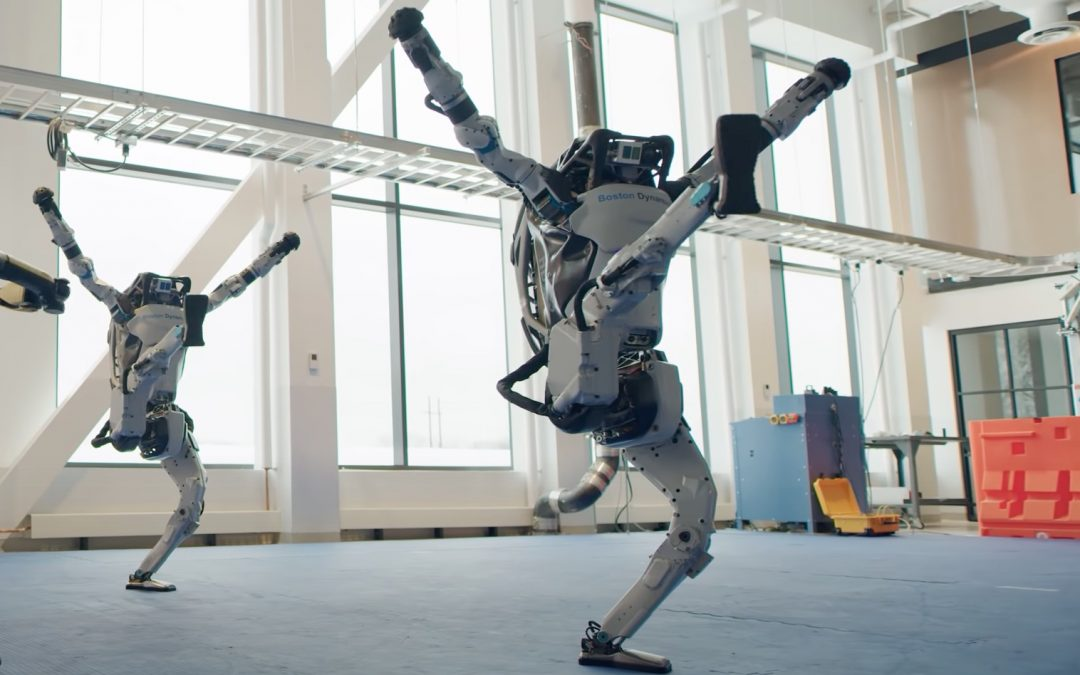 Dancing Robots – No longer science fiction!
