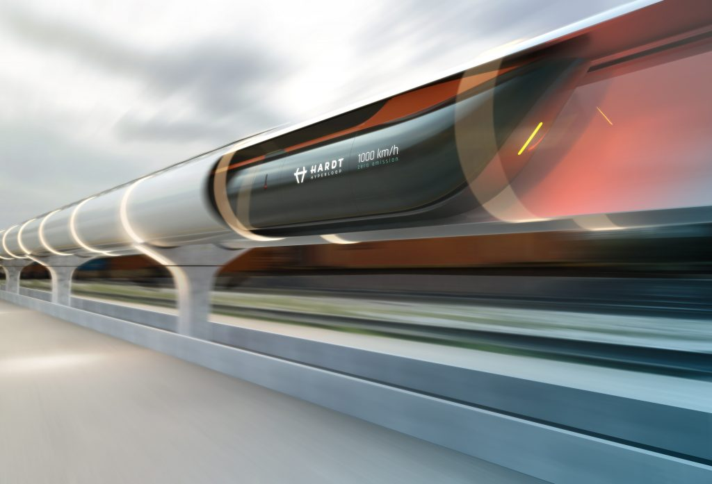 Hardt Hyperloop render