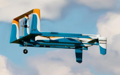 Wireless In-Flight Drone Recharging Tech For Prime Air