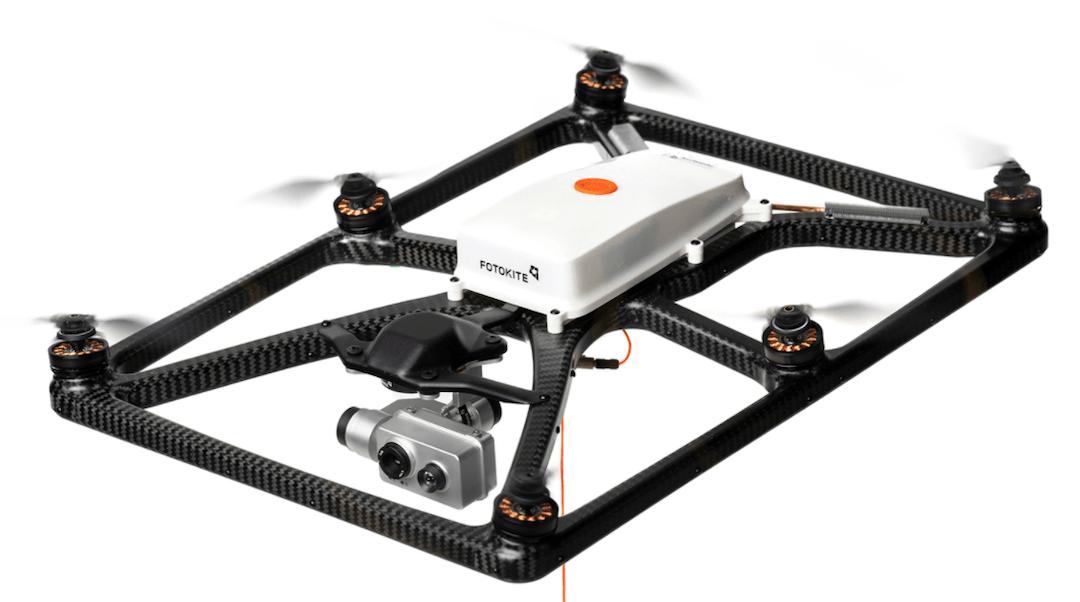 Fotokite – Tethered 24hr First Responder Drone