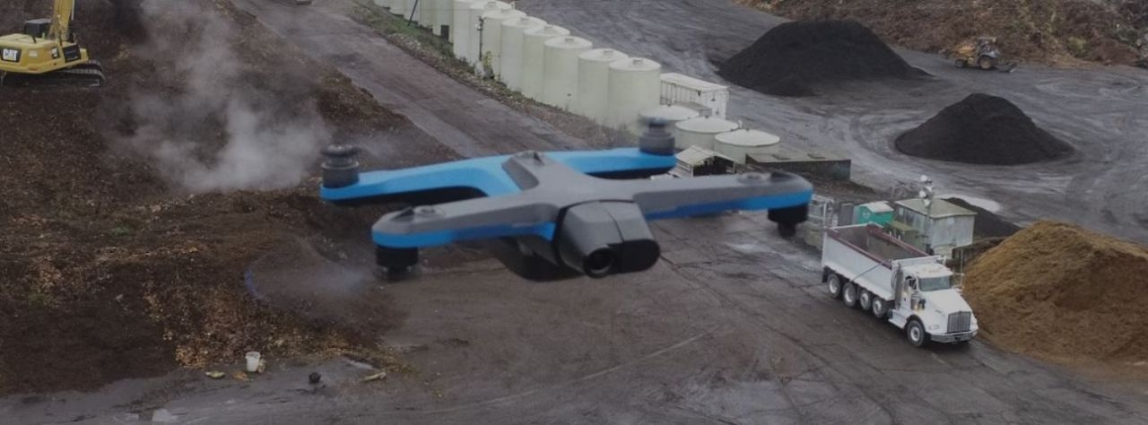 Skydio 2 in action